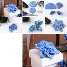 How To Make Beautiful Cloth Flower Step By DIY Tutorial Instructions Do Diy Crafts It Yourself