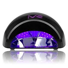amazon com melodysusie 12w led nail dryer nail l curing led