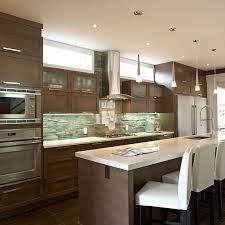 cuisine contemporaine bois massif cuisines beauregard cuisine réalisation 308 cuisine