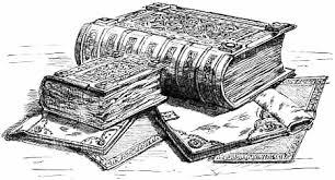 Vintage Scholar Clip Art