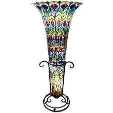 Wayfair Tiffany Floor Lamps by Peacock Lamps Peacock Decor Ideas