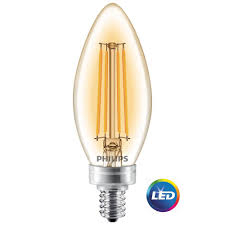 philips 40w equivalent soft white clear classic glass dimmable b11