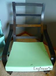 Ikea Poang Chair Cover Green by Diy Poang Chair Cushions Engineering A Home