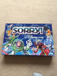 Sorry Board Game The Disney Edition