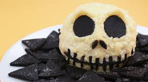 Nerdy Nummies Halloween 2015 by Jack Skellington Cheese Ball For Halloween Rosanna Pansino