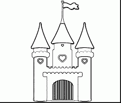 Good Cinderella Castle Coloring Pages Disney Princess Hpink With Page And