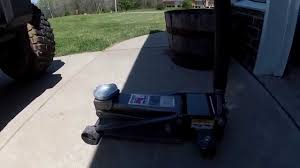 3 ton pittsburgh floor jack review harbor freight youtube
