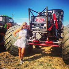 Nations Youngest Monster Truck Driver 16 Year Old Rosalee Ramer Of Watsonville