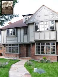 Mock Tudor House Photo by Exterior Paint Colour Help For Mock Tudor