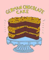 Clip Art German Cocolate Cake