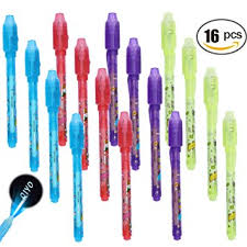 Amazon Invisible Ink Pen Spy Pen with Built in Uv Light