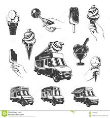 Vintage Monochrome Ice Cream Elements Set Stock Vector ... Licks Ice Cream Truck Takes Up Post In Brentwood Eater Austin Chomp Whats Da Scoop Shopkins Scoops Playset Flair Leisure Products 56035 New Exclusive Cooler Bags Food Fair Season 3 Very Hard To Jual Mainan Original Asli Helados In Box Glitter Moose Toys And Accsories Play Doh Surprise