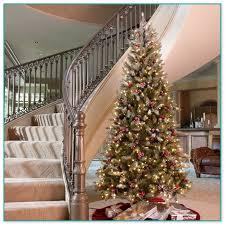Slim Pre Lit Christmas Trees by Dunhill Slim Pre Lit Christmas Tree