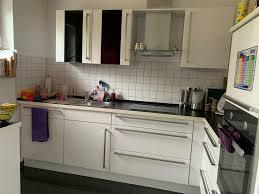 nobilia küche hochglanz weiß inkl elektrogeräten in l form
