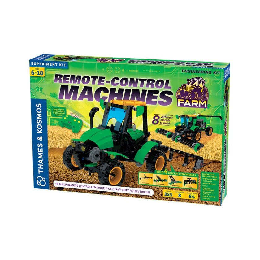 Thames & Kosmos Remote Control Machines Farm Science Experiment Kit