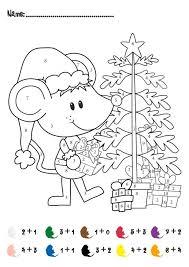 Ipad Coloring Addition Color By Number Christmas In Kindergarten Worksheets Change Hundreds Wheel