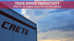 100 Road Dog Trucking Driver Productivity Crete On YouTube