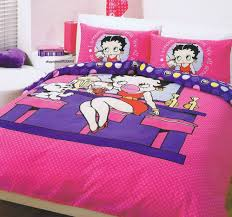 Betty Boop Bath Set by Luxury Beige Wall Painting Color Background Focused On Decorative