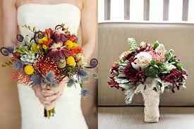 Rich And Rustic Wedding Bouquets