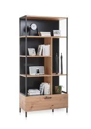 lucas 2 wohnzimmer komplettset artisan eiche schwarz