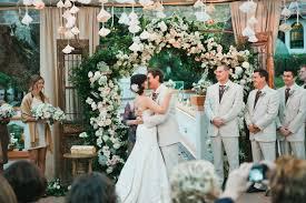 Diy Coffee Filter Wedding Ceremony Backdrop