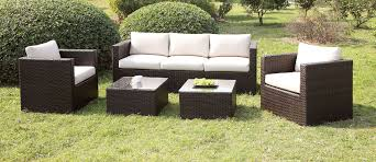 5 PC Furniture of America Olina Collection Outdoor Patio Set CM