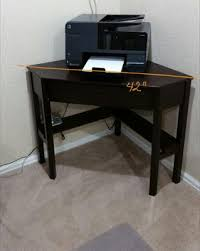 Walmart Computer Desk With Side Storage by Corner Writing Desk Multiple Finishes Walmart Com