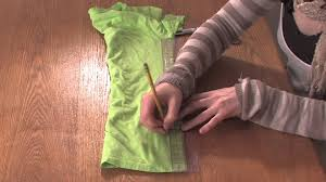 How to Cut a T Shirt With Lines on the Sides DIY Shirt Designs