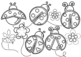 11 Printable Ladybug Coloring Pages For