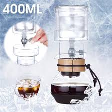 No400ml Cold Brew Water Ice Drip Coffee Maker Filters Home Kitchen
