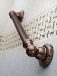 Moen Oil Rubbed Bronze Bathroom Accessories by Moen Kingsley Securemount Grab Bar U2013 Oil Rubbed Bronze Ada Grab