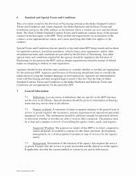Contract Agreement Conditions Sample Elegant Design Terms And Template Gallery Ideas