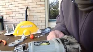 how to fix work force tile cutting saw youtube