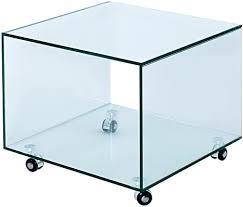 riess ambiente extravaganter glas beistelltisch fantome cube