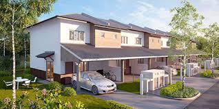 100 Terrace House Double Storey LBS Bina Group LBS Bina Group