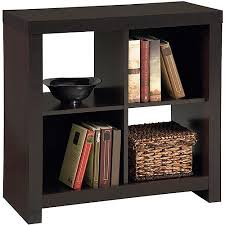 Walmart Larkin Sofa Table by Larkin 4 Cube Storage By Ameriwood Espresso Black Forrest