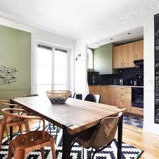 cuisine ouverte sur salle a manger table salle a manger pas cher belgique pour idees de deco cuisine