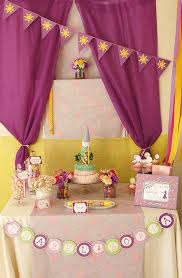 Photo 2 Of Rapunzel Tangled Birthday Art Party