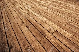 Rustic Wooden Floor Board Texture In Perspective As Background For Product Placement Warm Tone Stock