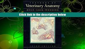 PDF Textbook Of Veterinary Anatomy 3rd Edition Pre Order