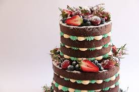 Two Tier Naked Cake Tutorial With Berries Rosies Dessert Spot