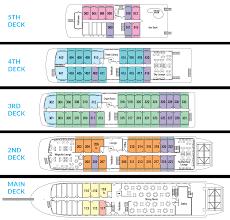 Disney Wonder Deck Plan by Lower Mississippi River Cruise