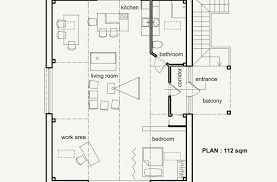 color for waiouru house floor plan with attic