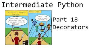 Python Decorators With Arguments by Decorators Intermediate Python Programming P 18 Youtube