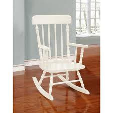 Kids Classic Solid Wood Rocking Chair By Bella Esprit