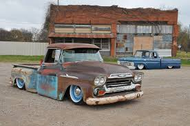 100 1963 Chevy Truck 1958 Apache Ford F100 A House Divided