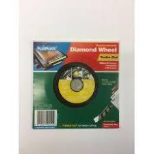 Plasplugs Diamond Wheel Wet Tile Saw by Plasplugs Ltd Spare Parts U0026 Accessories