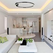 s luce pro led wand deckenleuchte ring m dimmbar ø 60cm in schwarz wohnzimmer ring deckenle