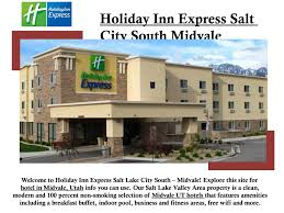 100 Hotels In Page Utah Holiday N Express Salt Lake City South Midvale By