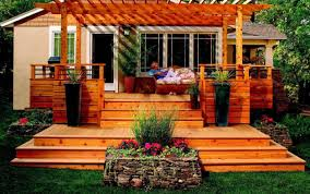Patio & Pergola : Pretty Backyard With Awesome Small Deck Idea ... Garden Ideas Back Yard Design Your Backyard With The Best Crashers Large And Beautiful Photos Photo To Select Patio Adorable Landscaping Swimming Pool Download Big Mojmalnewscom Idea Monstermathclubcom Kitchen Pretty Beautiful Designs Outdoor Spaces Stealing Look Small Deoursign Home Landscape Backyards Front Low Maintenance Uk With On Decor For Unique Foucaultdesigncom